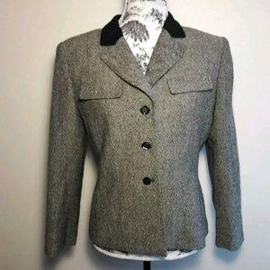 Laser ASL Petites Wool Blazer/Jacket Size 8P